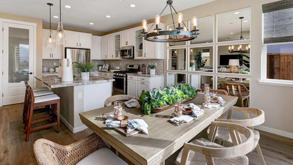 Kitchen featured in the Residence 2 By DeNova Homes in Santa Cruz, CA
