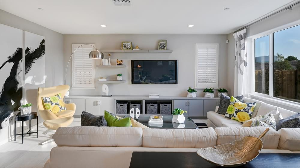 Living Area featured in the Residence 3 By DeNova Homes in Santa Cruz, CA