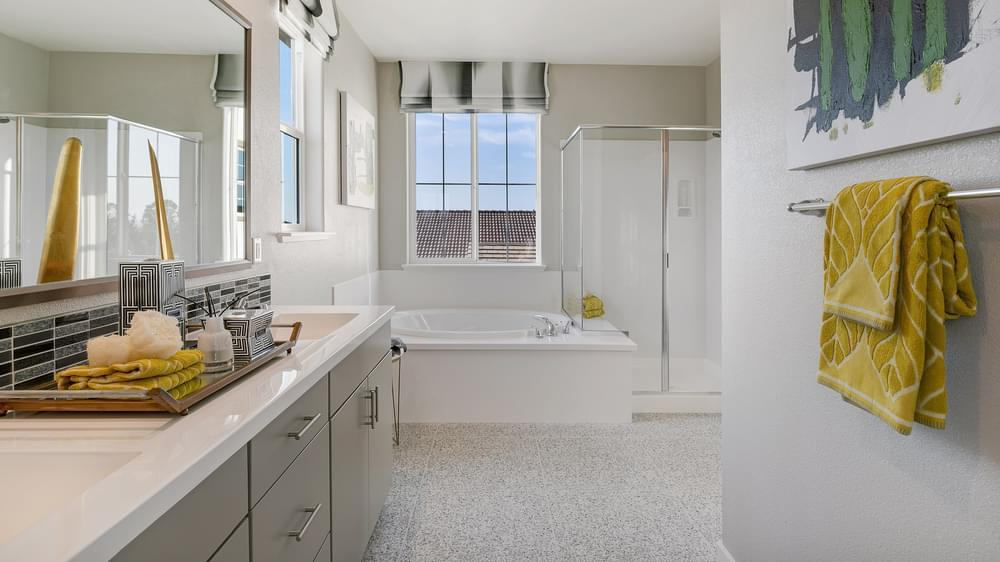 Bathroom featured in the Residence 3 By DeNova Homes in Santa Cruz, CA