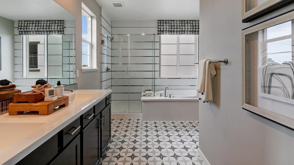 Bathroom featured in the Residence 5 By DeNova Homes in Santa Cruz, CA