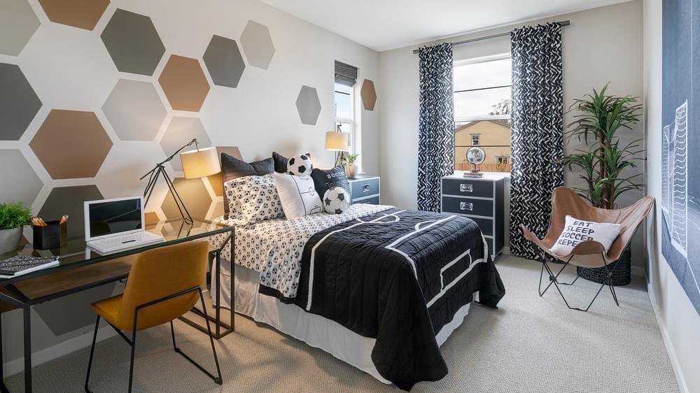 Bedroom featured in the Residence 5 By DeNova Homes in Santa Cruz, CA