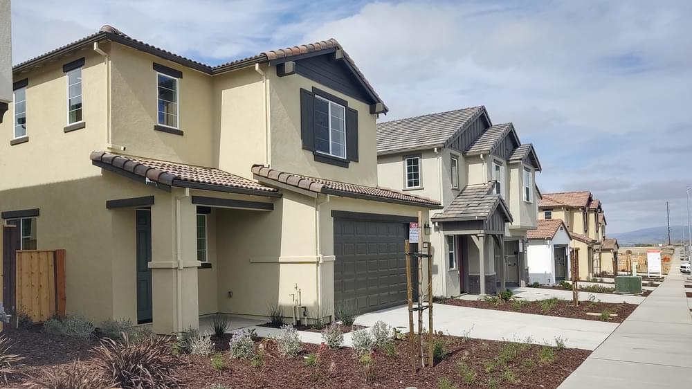 Exterior featured in the Residence 4 By DeNova Homes in Santa Cruz, CA