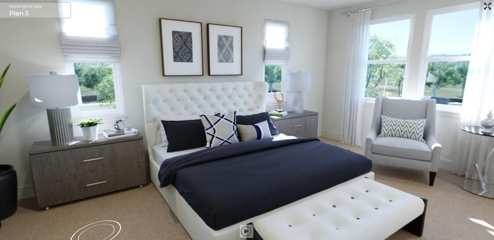 Bedroom featured in the Residence 5 By DeNova Homes in Santa Rosa, CA