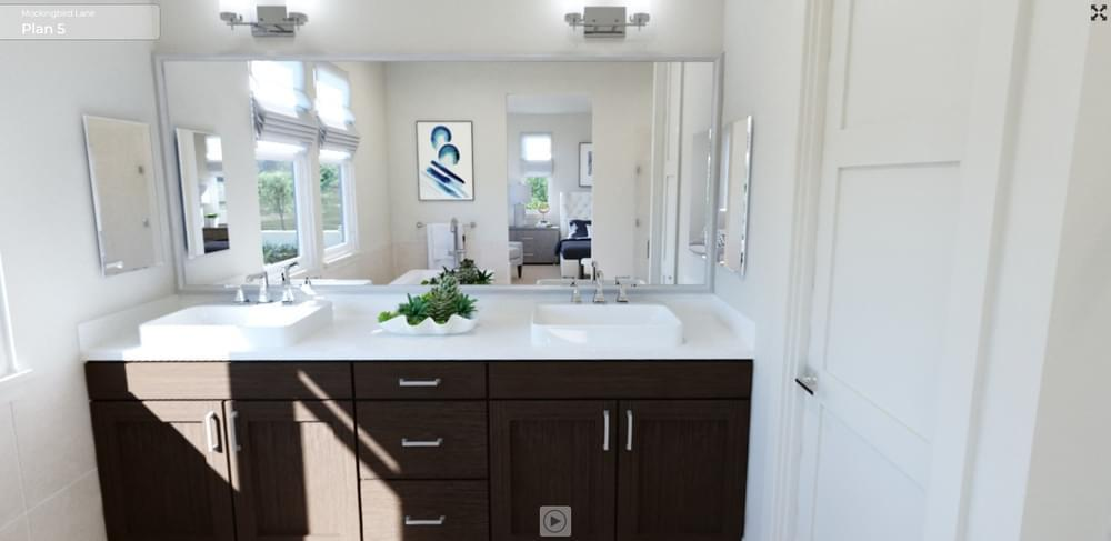 Bathroom featured in the Residence 5 By DeNova Homes in Santa Rosa, CA