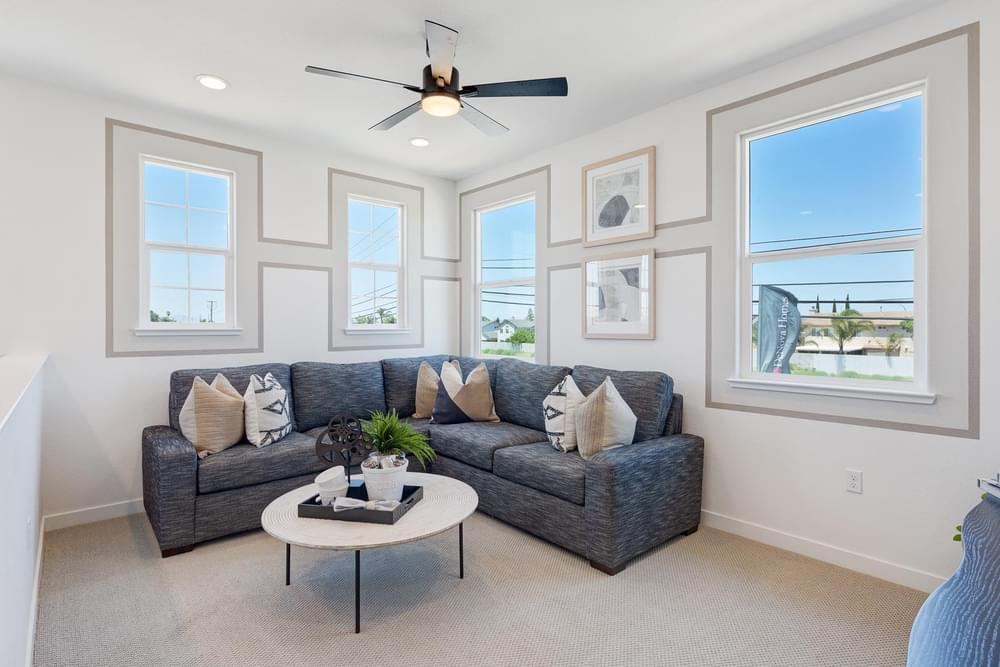 Living Area featured in the Residence 2 By DeNova Homes in Stockton-Lodi, CA