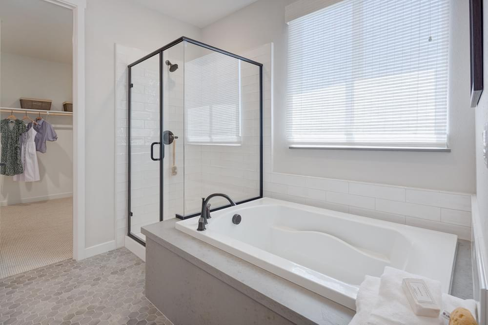 Bathroom featured in the Residence 3 By DeNova Homes in Stockton-Lodi, CA