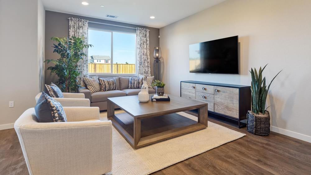 Living Area featured in the Residence 1 By DeNova Homes in Oakland-Alameda, CA