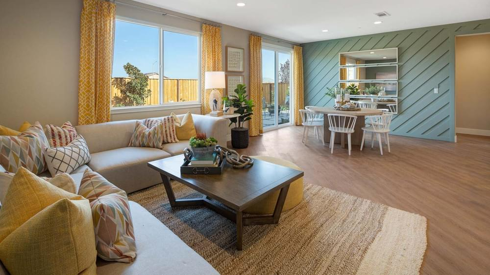 Living Area featured in the Residence 2 By DeNova Homes in Oakland-Alameda, CA