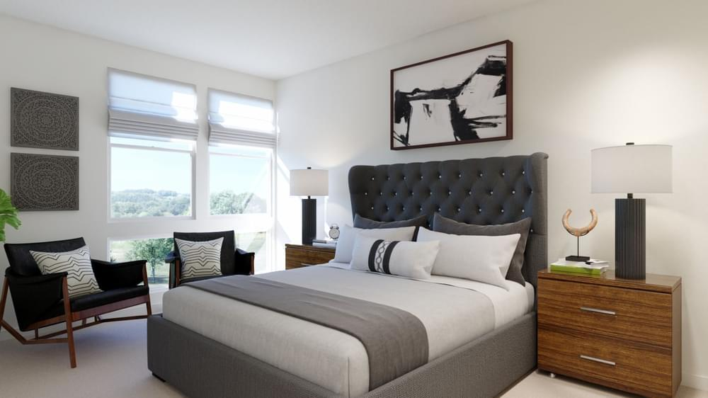 Bedroom featured in the Residence 2 By DeNova Homes in Oakland-Alameda, CA