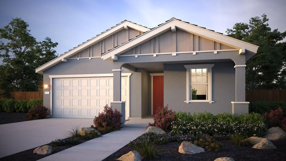 Exterior featured in the Residence 2 By DeNova Homes in Vallejo-Napa, CA