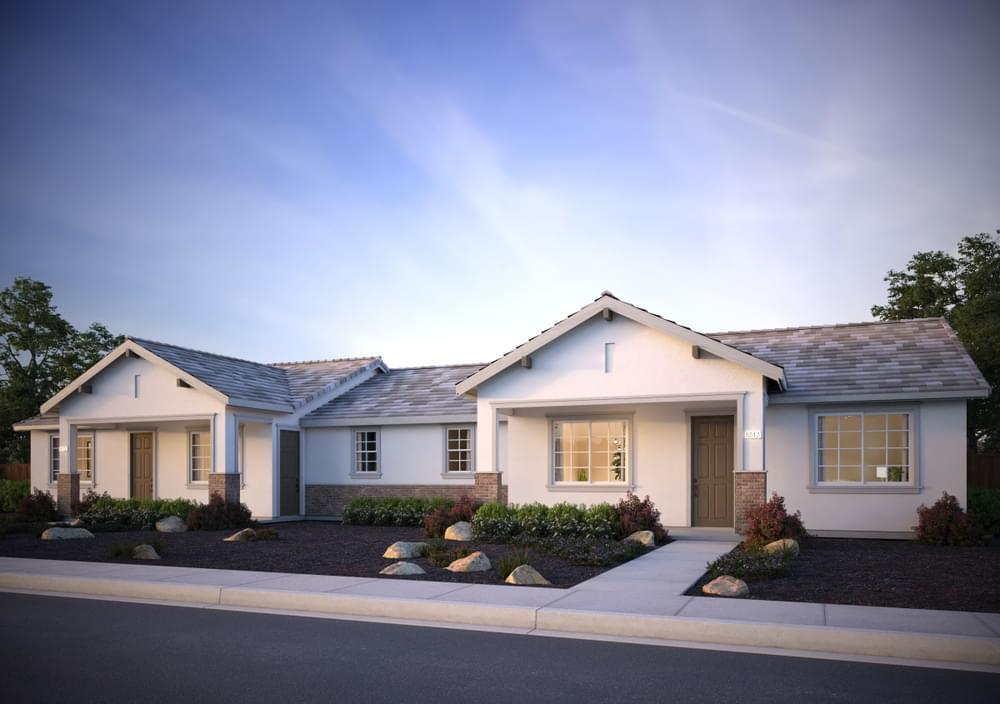 Exterior featured in the Residence 5 (Duet) By DeNova Homes in Vallejo-Napa, CA