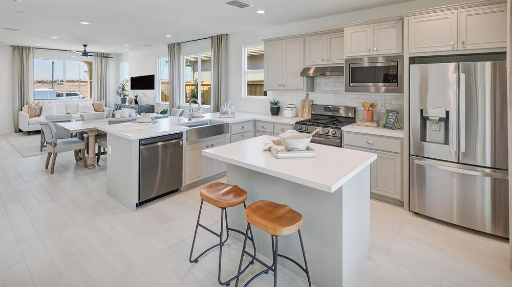 Kitchen featured in the Residence 1 By DeNova Homes in Vallejo-Napa, CA