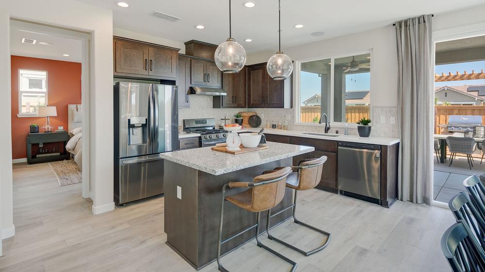 Kitchen featured in the Residence 2 By DeNova Homes in Vallejo-Napa, CA