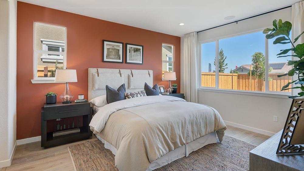 Bedroom featured in the Residence 2 By DeNova Homes in Vallejo-Napa, CA