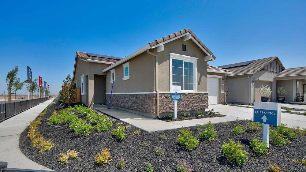 Exterior featured in the Residence 3 By DeNova Homes in Vallejo-Napa, CA