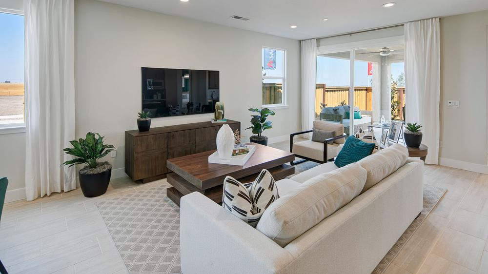 Living Area featured in the Residence 3 By DeNova Homes in Vallejo-Napa, CA