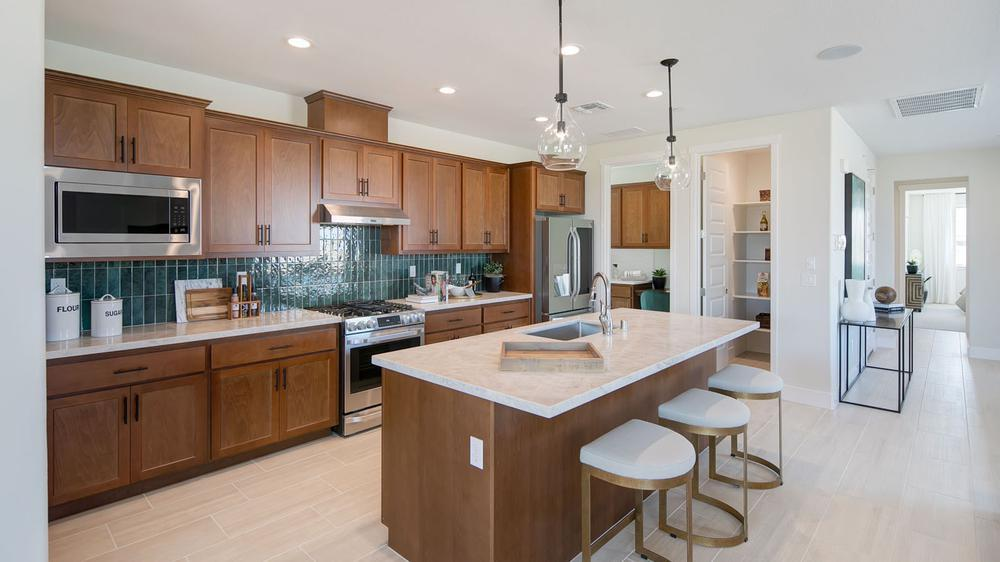 Kitchen featured in the Residence 3 By DeNova Homes in Vallejo-Napa, CA