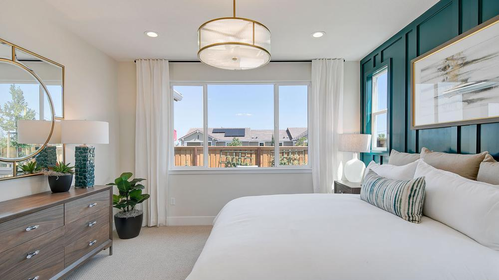 Bedroom featured in the Residence 3 By DeNova Homes in Vallejo-Napa, CA