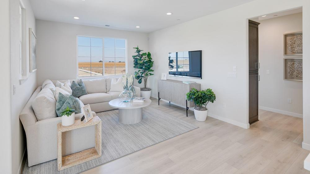 Living Area featured in the Residence 4 (Duet) By DeNova Homes in Vallejo-Napa, CA
