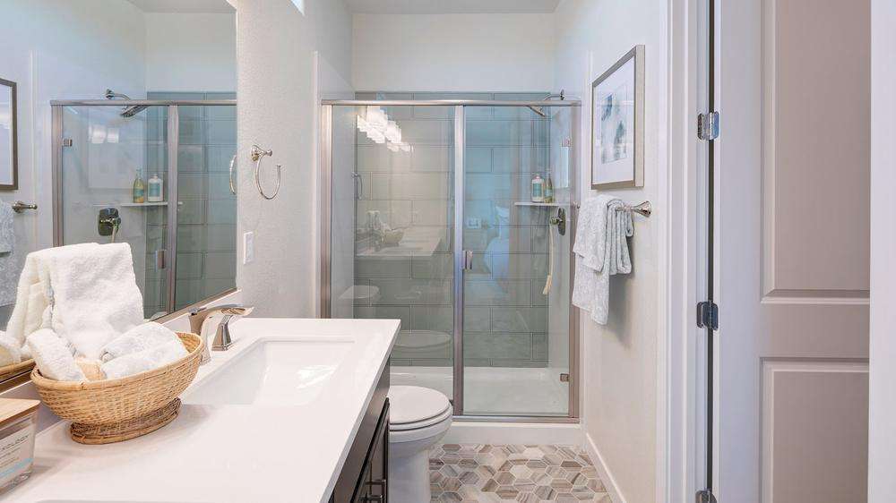 Bathroom featured in the Residence 4 (Duet) By DeNova Homes in Vallejo-Napa, CA