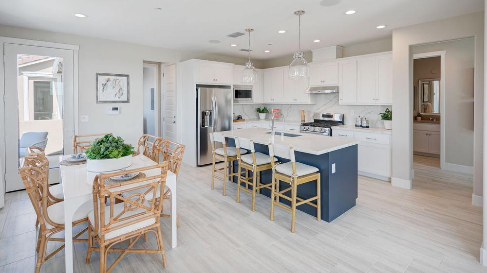 Kitchen featured in the Residence 5 (Duet) By DeNova Homes in Vallejo-Napa, CA