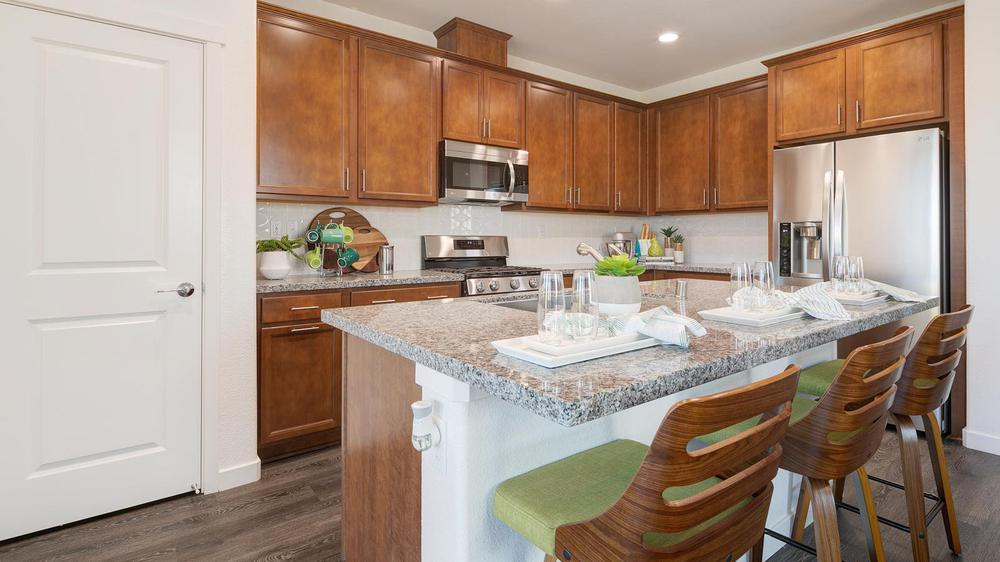 Kitchen featured in the Residence 5 By DeNova Homes in Oakland-Alameda, CA