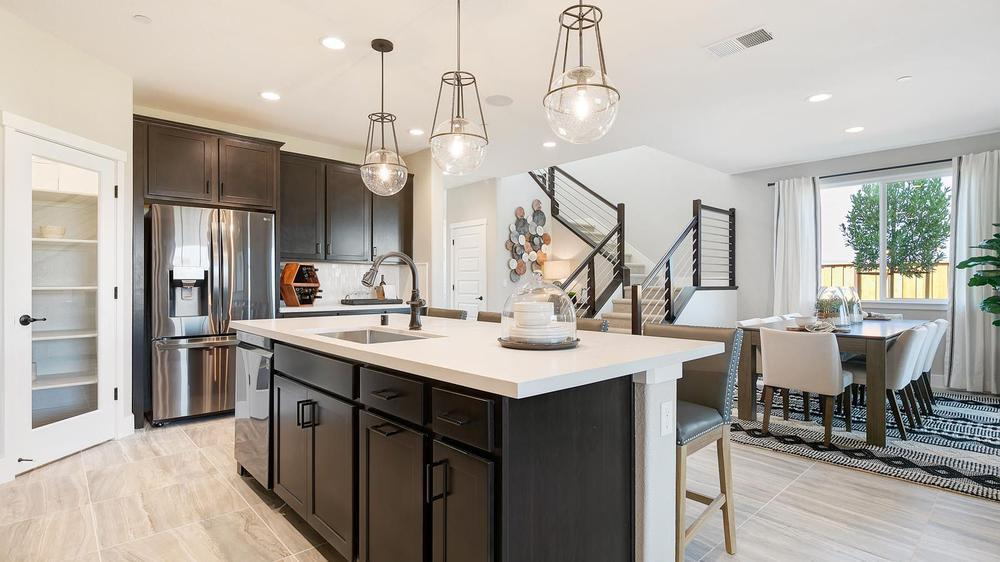 Kitchen featured in the Residence 7 By DeNova Homes in Oakland-Alameda, CA