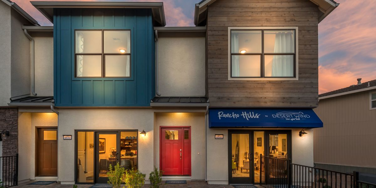 Townhomes Front