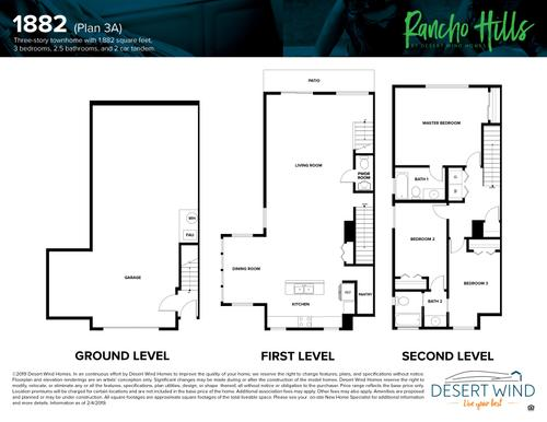 1882 Floorplan Townhouse Reno