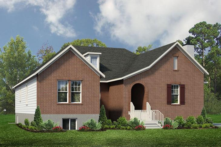 Exterior:Oaklawn Traditional