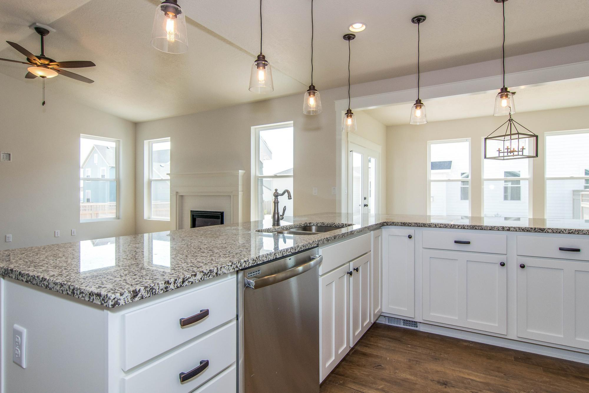 Kitchen-in-Evergreen-at-Hill Farms-in-Kaysville
