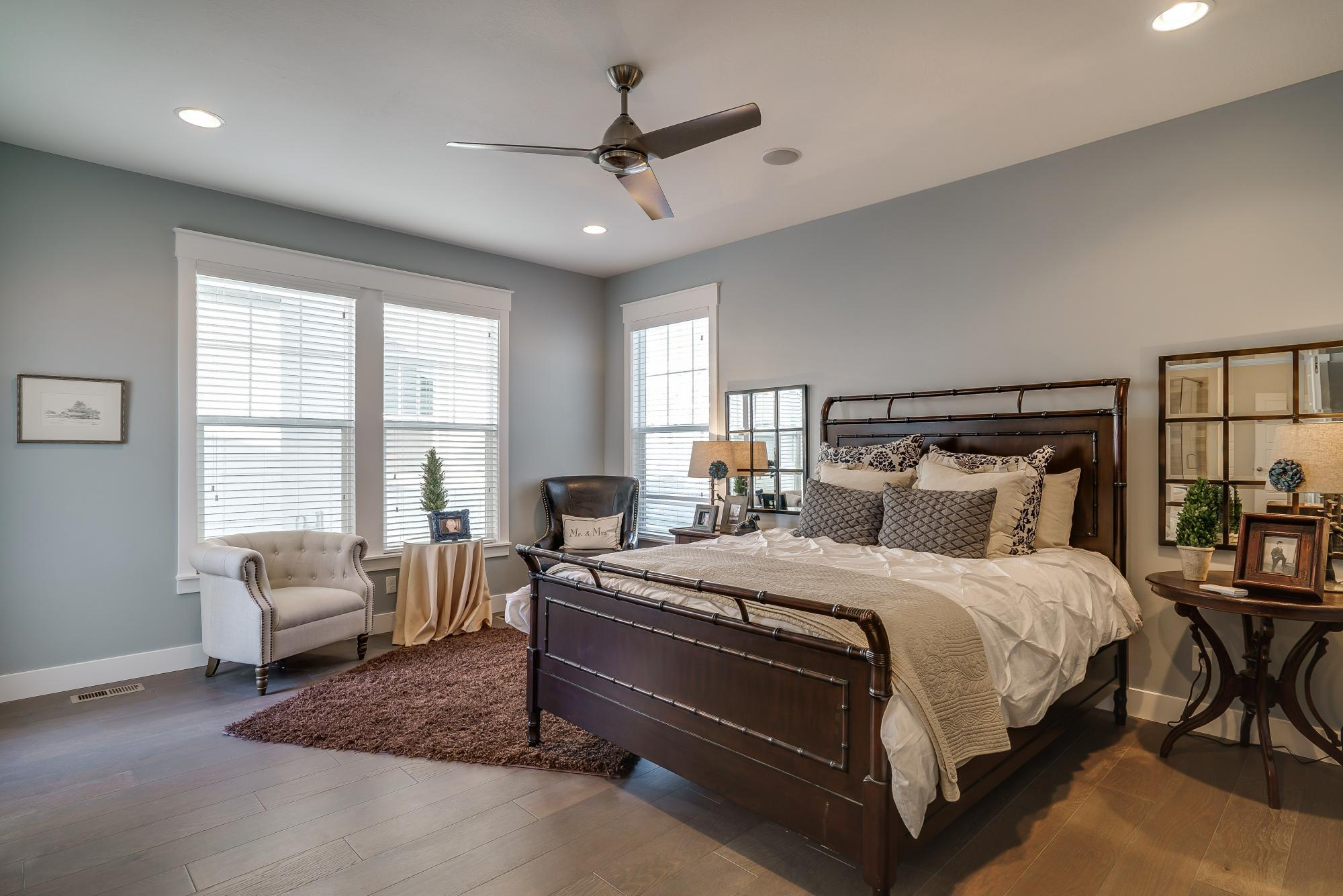 Bedroom-in-Linden-at-Hill Farms-in-Kaysville