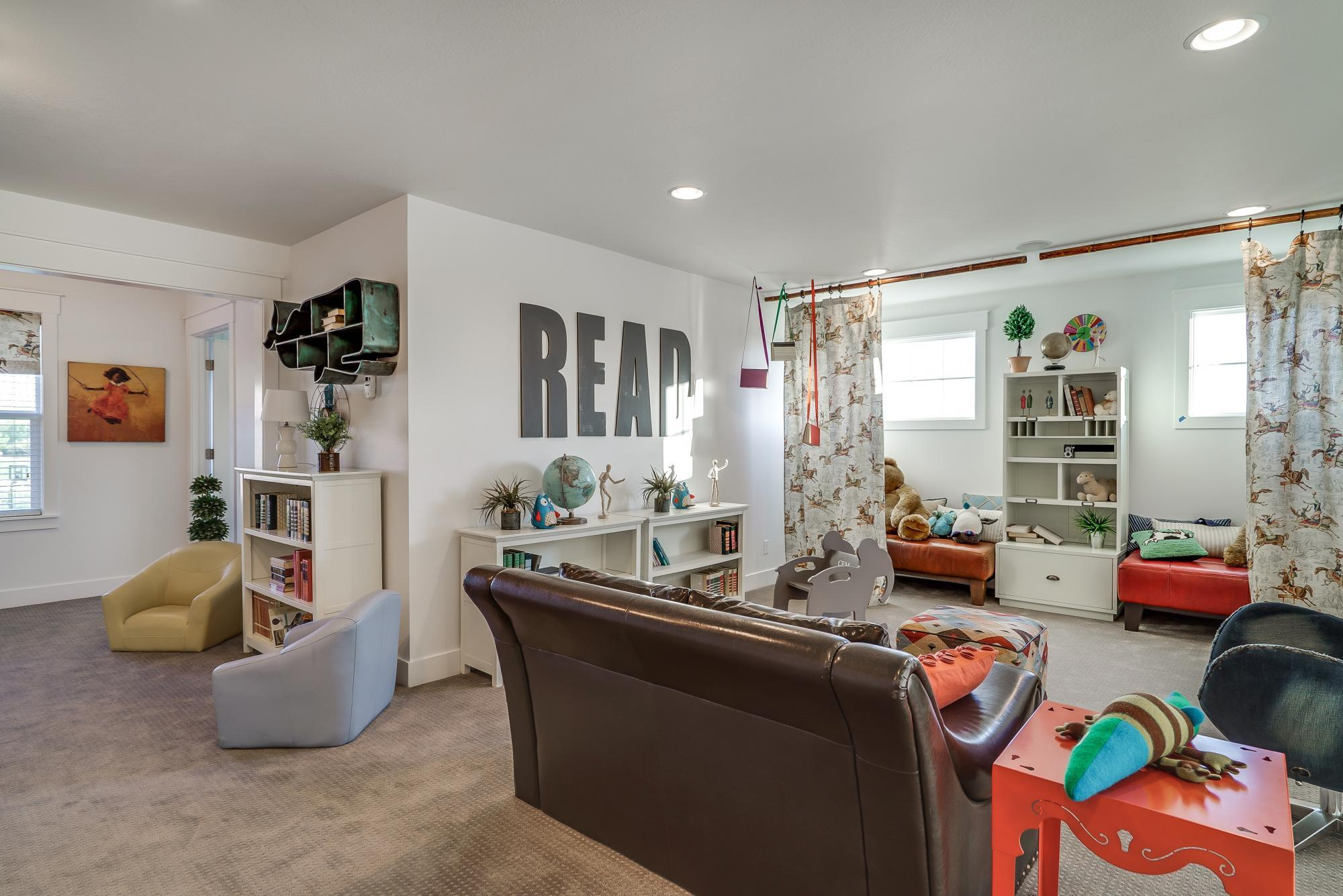 Recreation-Room-in-Linden-at-Hill Farms-in-Kaysville