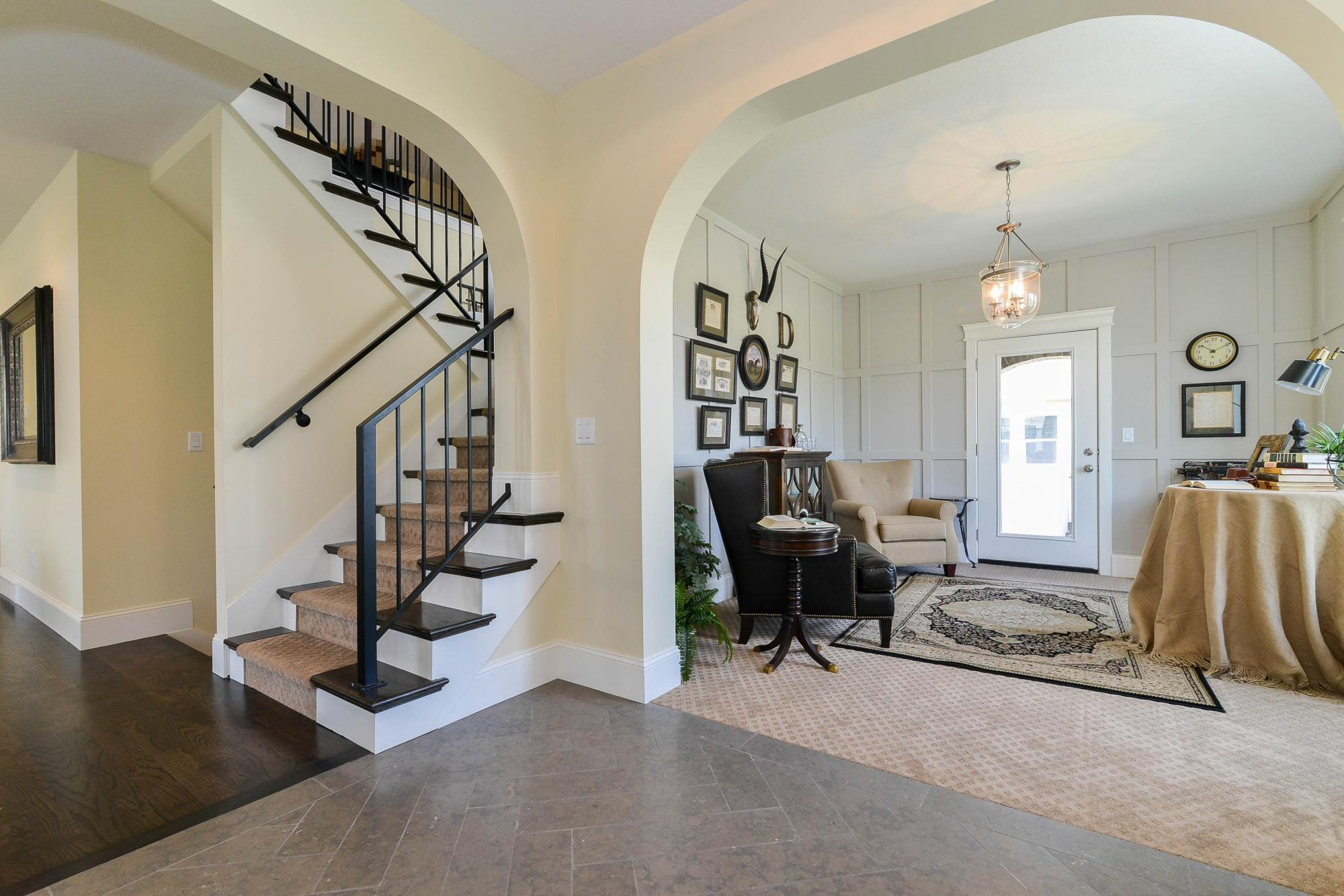 Stairway-in-Lakeville-at-Hill Farms-in-Kaysville