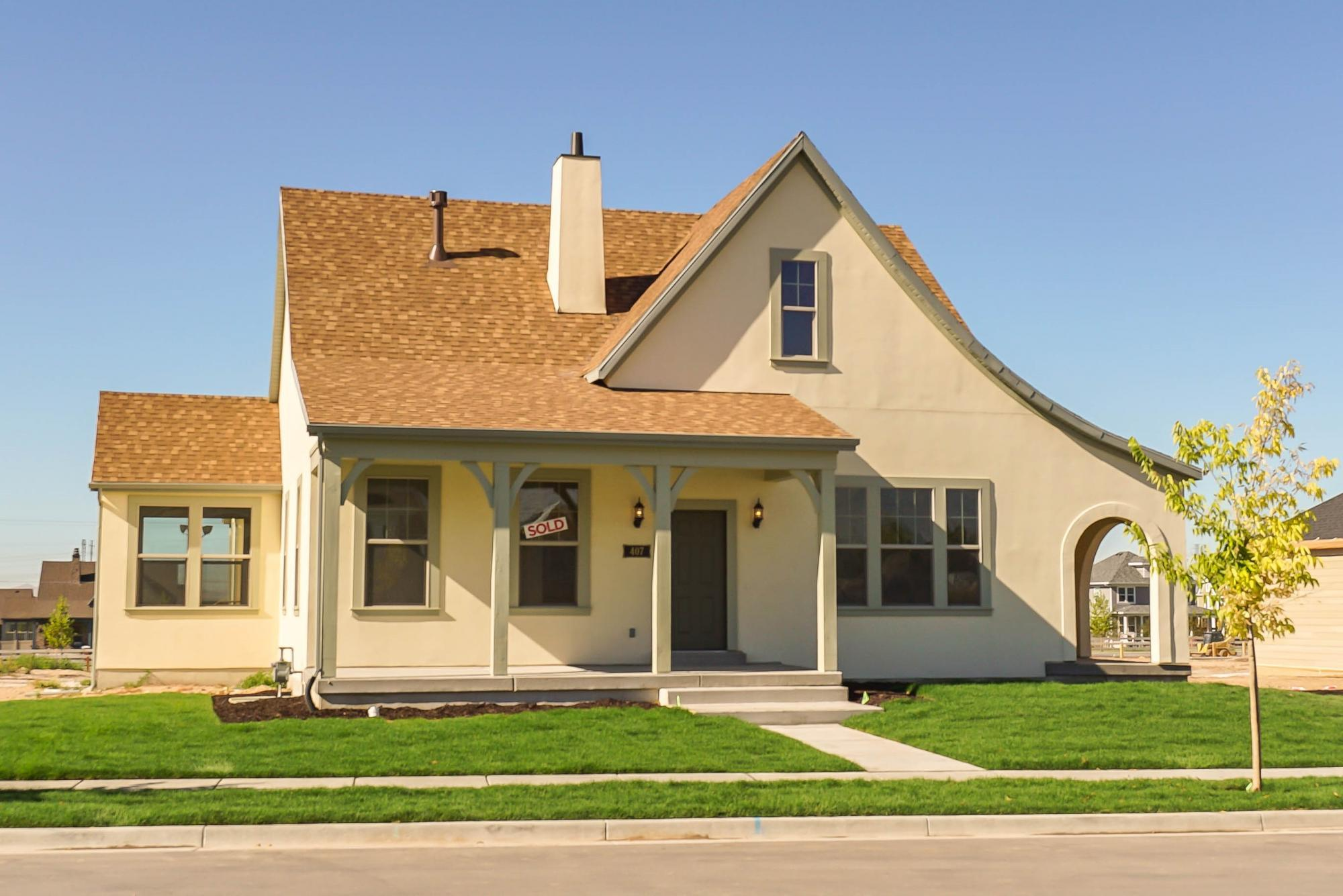 Exterior featured in the Lakeville By Destination Homes in Salt Lake City-Ogden, UT