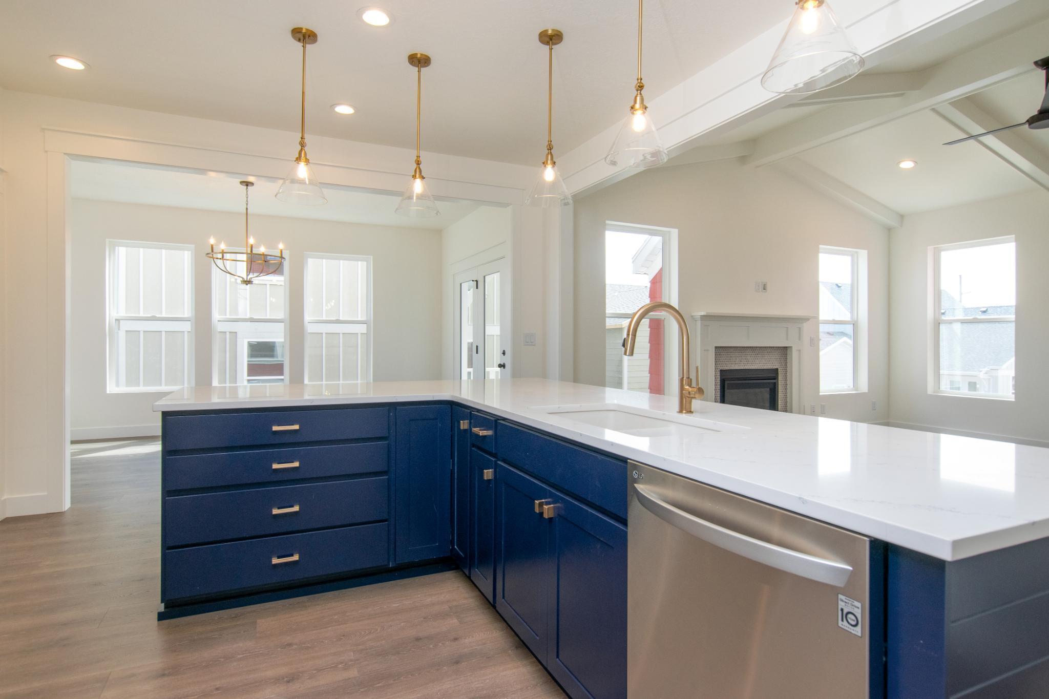 Kitchen featured in the Evergreen By Destination Homes in Salt Lake City-Ogden, UT