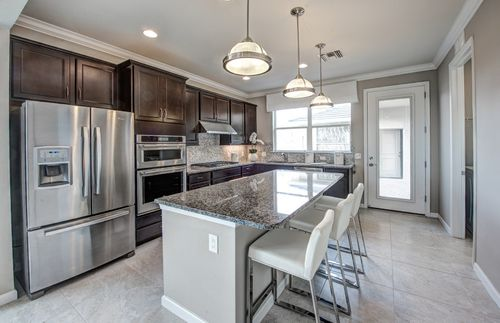 Kitchen-in-Foxtail - Exterior Unit-at-Mallory Park at Lakewood Ranch-in-Lakewood Ranch