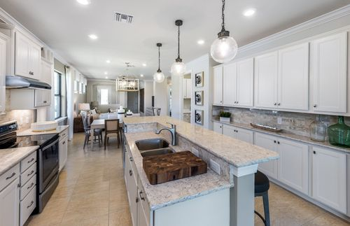 Kitchen-in-Crestview-at-IslandWalk at the West Villages-in-Venice