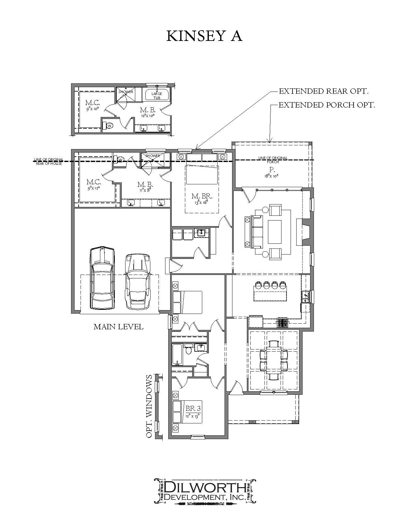 Bedroom featured in The Kinsey A Plan By Dilworth Development  in Auburn-Opelika, AL