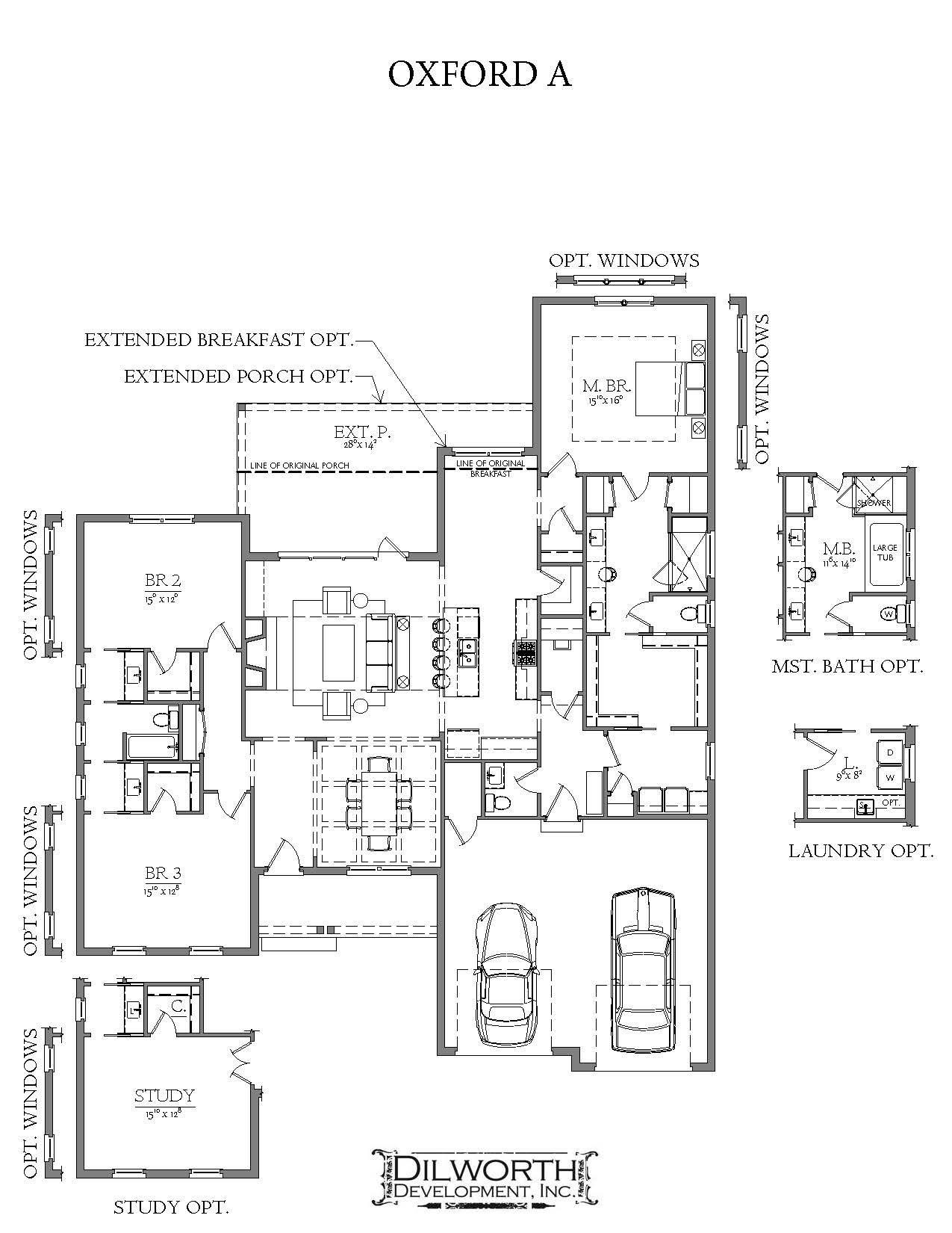 Bedroom featured in The Oxford A Plan By Dilworth Development  in Auburn-Opelika, AL