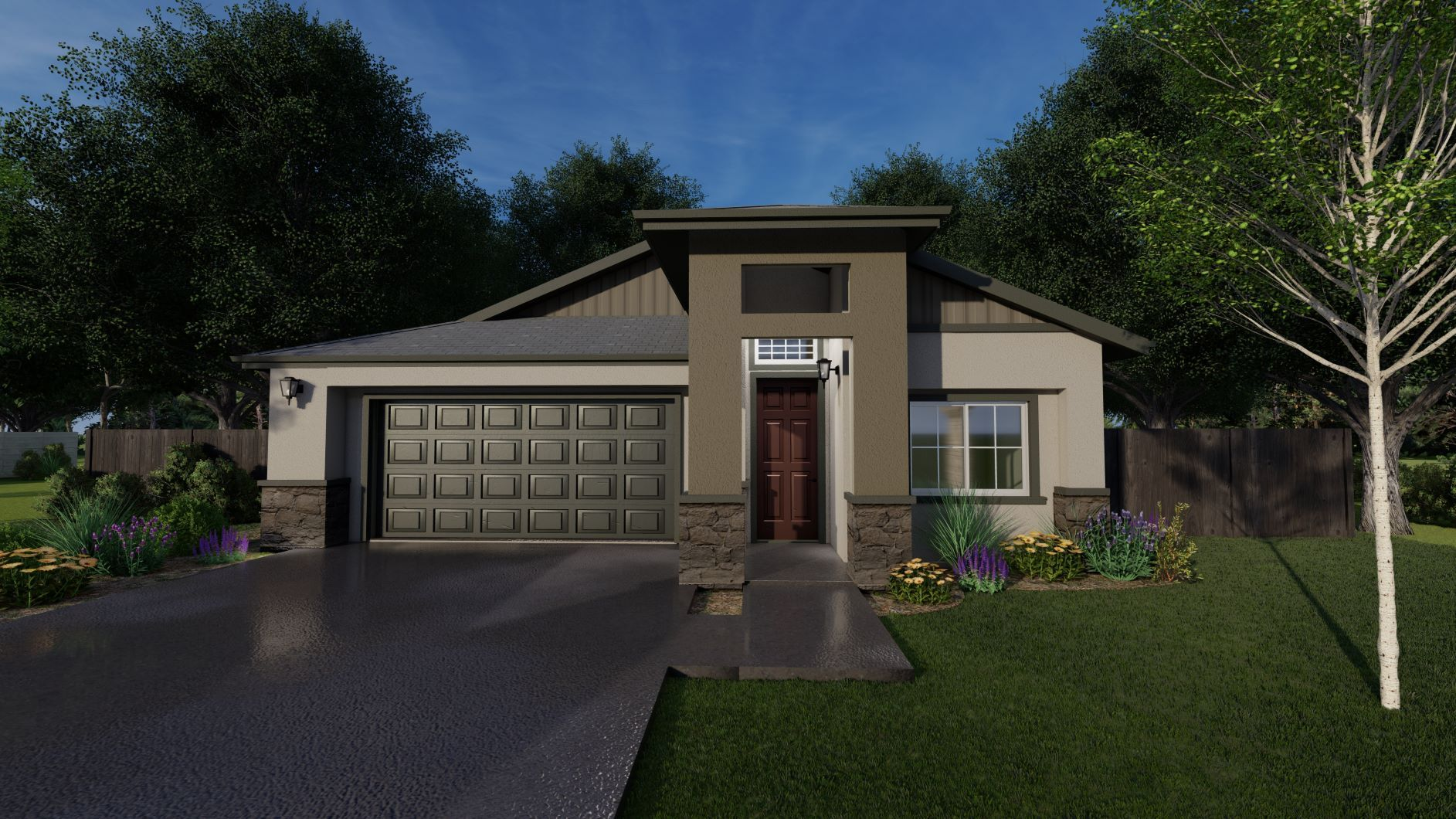 Exterior featured in the Hudson By Discovery Homes in Chico, CA