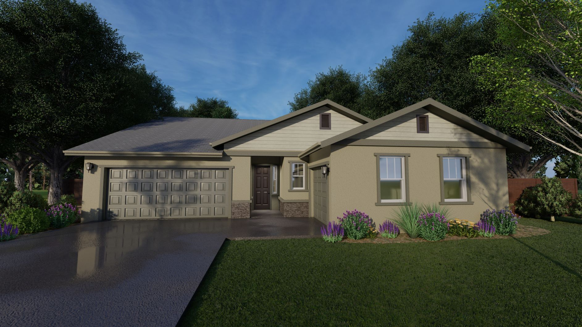 Exterior featured in the Parker By Discovery Homes in Chico, CA