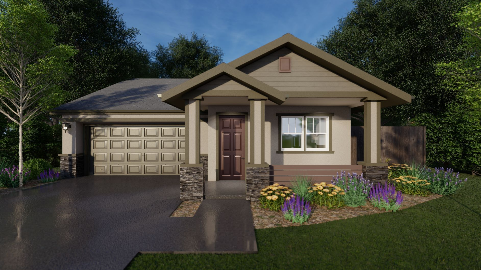 Exterior featured in the Spur By Discovery Homes in Chico, CA