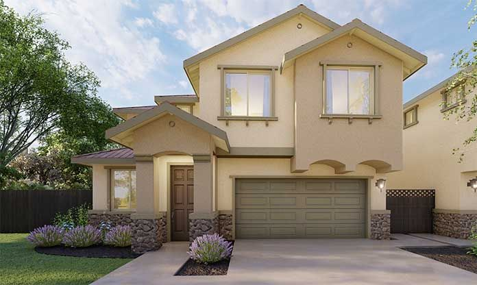 Exterior featured in the Audrey By Discovery Homes in Vallejo-Napa, CA