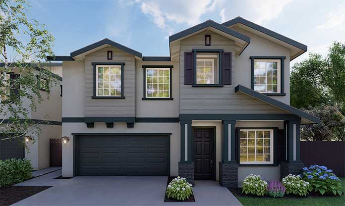 Exterior featured in the Daphne By Discovery Homes in Vallejo-Napa, CA