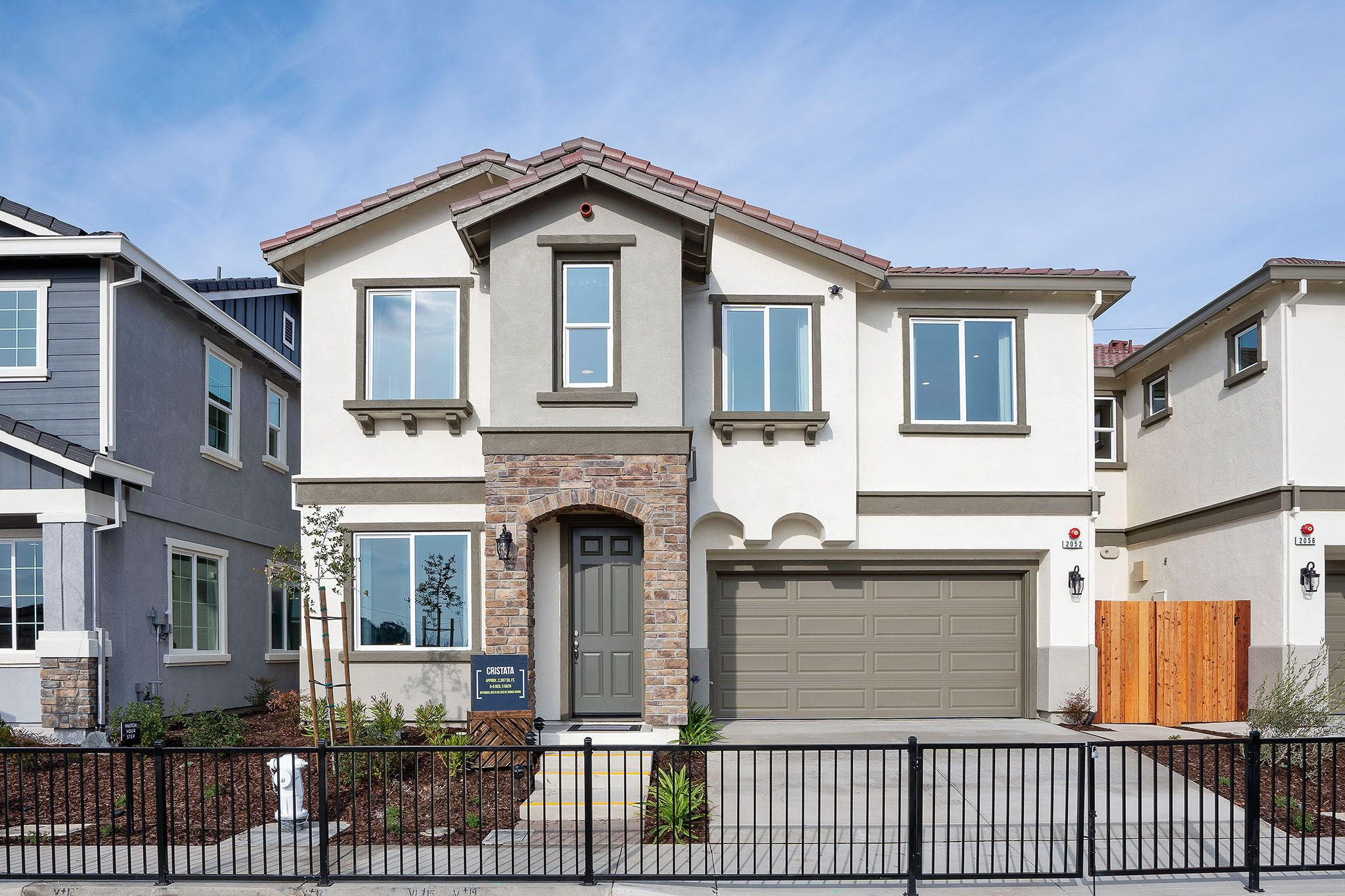 Exterior featured in the Cristata By Discovery Homes in Vallejo-Napa, CA