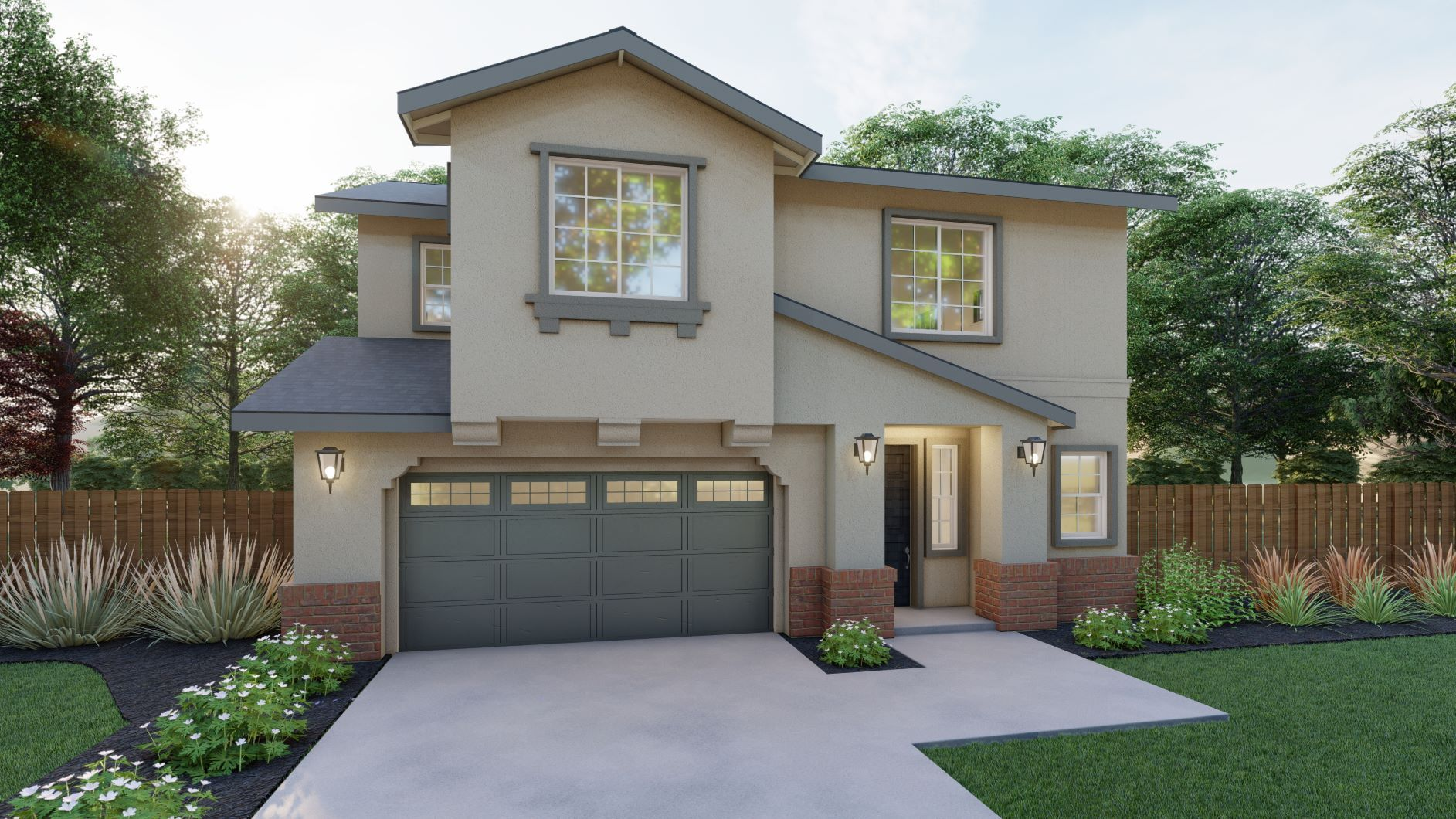 Exterior featured in the Avalon By Discovery Homes in Oakland-Alameda, CA
