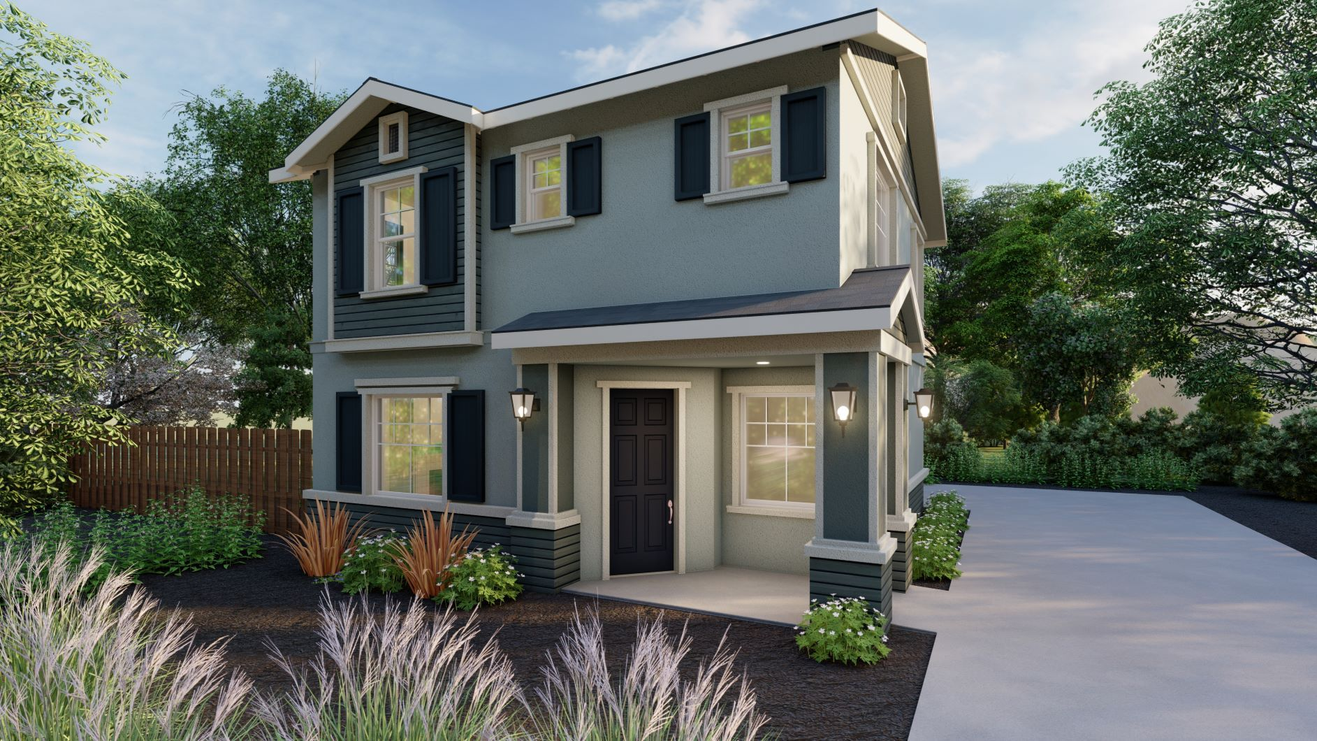 Exterior featured in the Buckley By Discovery Homes in Oakland-Alameda, CA