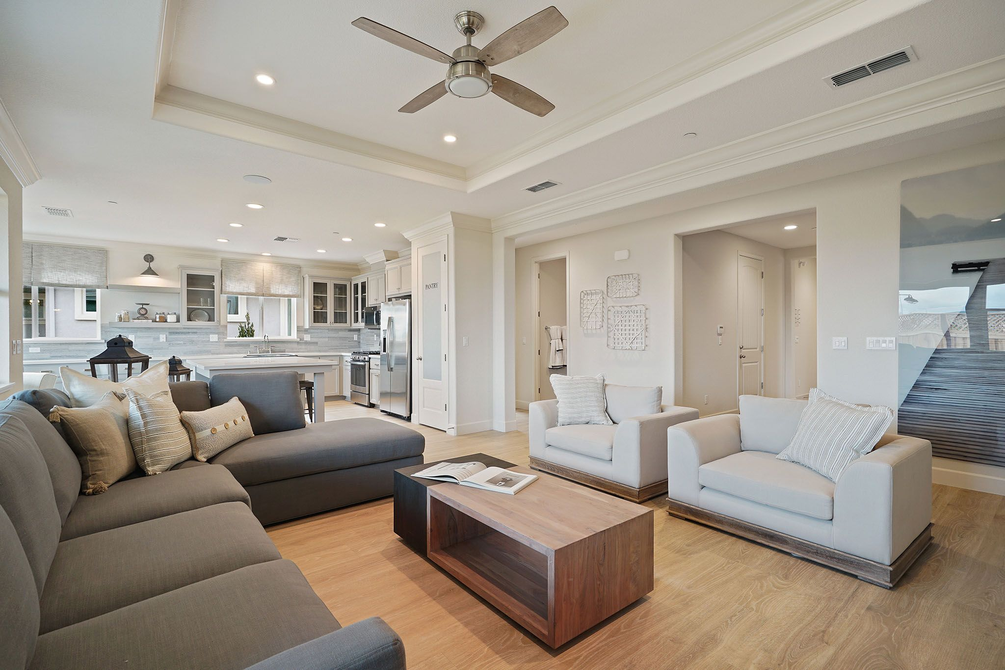 Living Area featured in the Parker By Discovery Homes in Chico, CA
