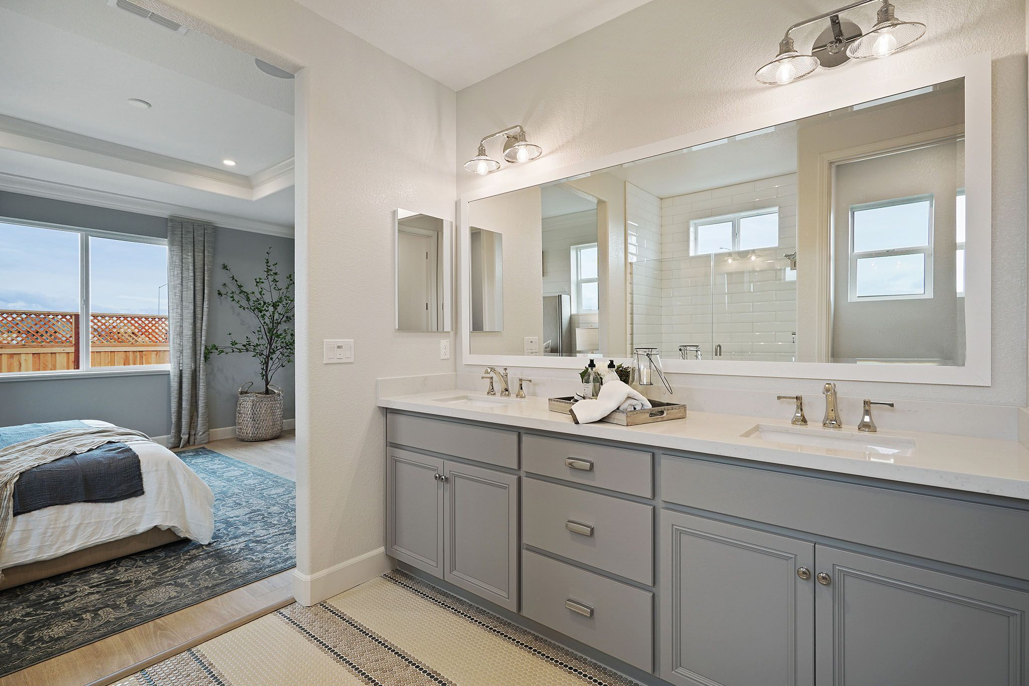 Bathroom featured in the Parker By Discovery Homes in Chico, CA